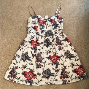 Brand New Loft Dress in flowery print